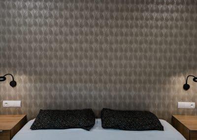Papel texturizado dormitorio